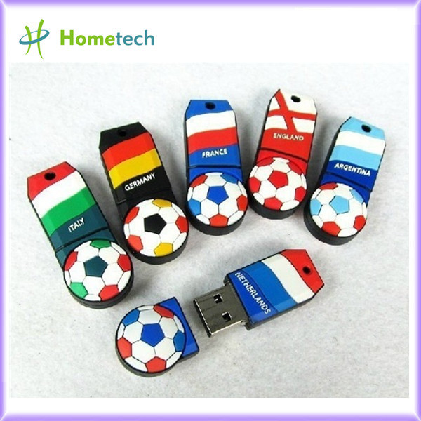Wholesale Football team USB drive, pendriv