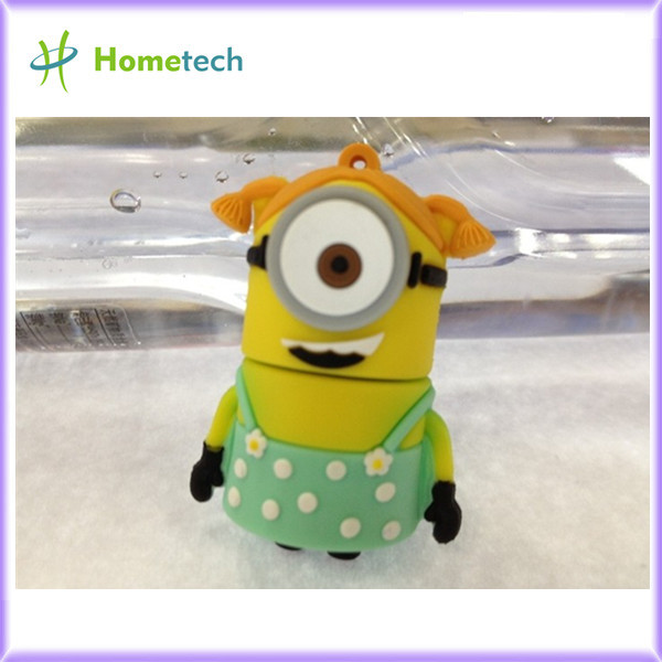 Cartoon Minions USB 2.0 Memory Stick Flash