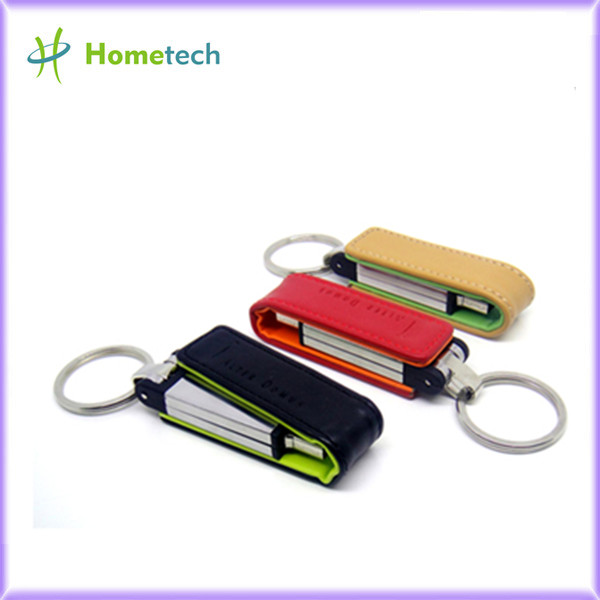 Leather USB Flash Disk 1GB 2GB High Speed