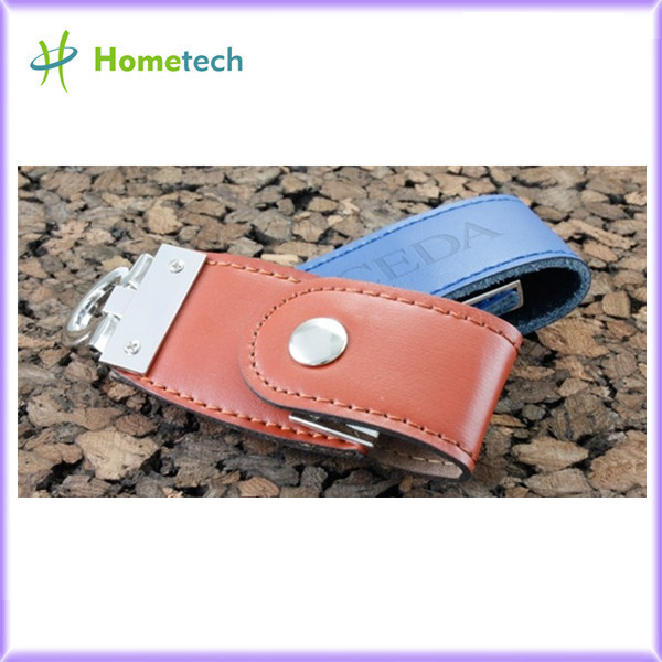USB 2.0 Leather Memory Sticks USB Flash Dri