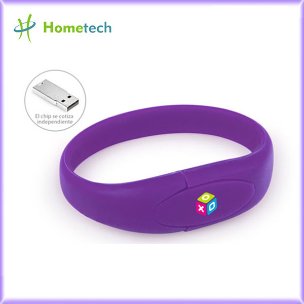 Wristband Usb Flash Drive Custom Logo Print