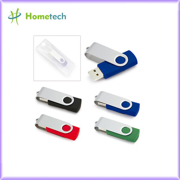 Colorful mini twister swivel plastic usb fl