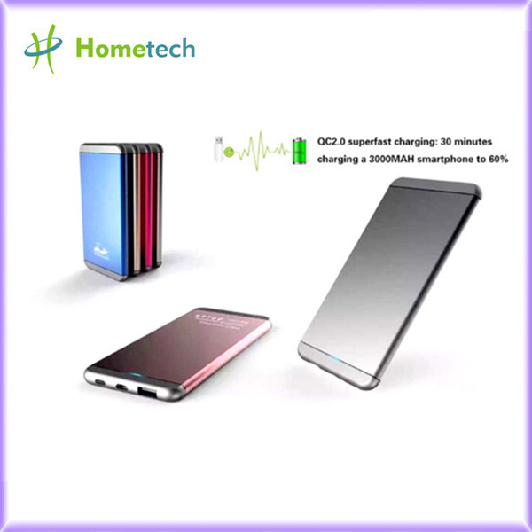 5000mAh Metal Casing Fast Charging Power Bank for Iphone7