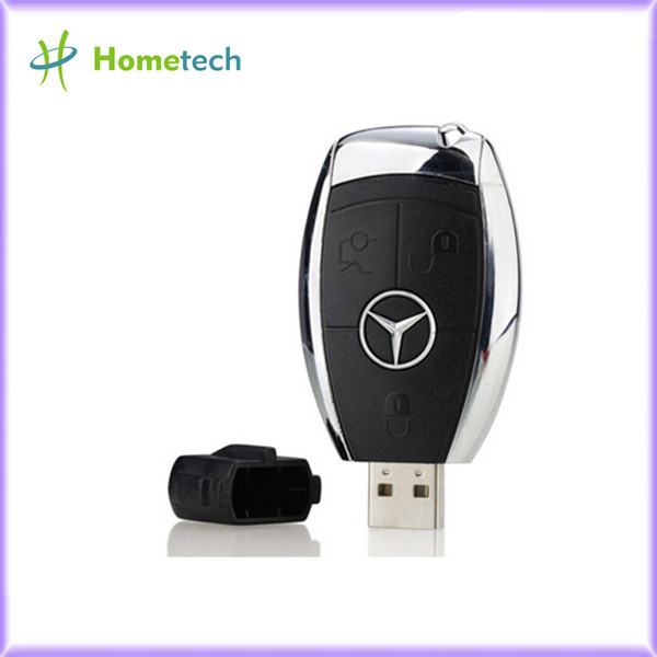Plastic USB Flash Drive Creative Car Key USB Pendrive