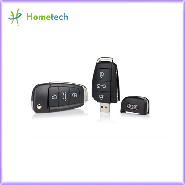 Car key USB flash drive 512MB, 1GB - 64GB Black pen drive